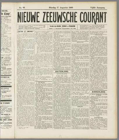 Nieuwe Zeeuwsche Courant 1909-08-17