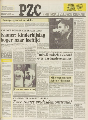 Provinciale Zeeuwse Courant 1981-11-21