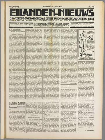 Eilanden-nieuws. Christelijk streekblad op gereformeerde grondslag 1938-05-04