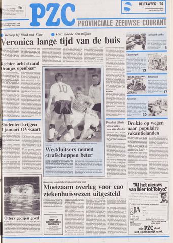 Provinciale Zeeuwse Courant 1990-07-05