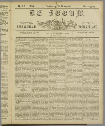 De Zeeuw. Christelijk-historisch nieuwsblad voor Zeeland 1906-11-29