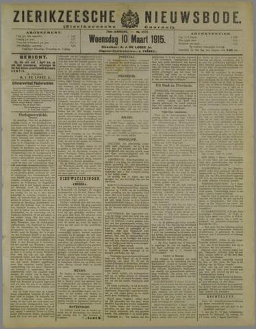 Zierikzeesche Nieuwsbode 1915-03-10
