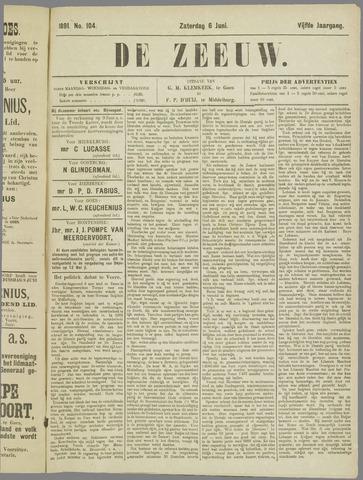 De Zeeuw. Christelijk-historisch nieuwsblad voor Zeeland 1891-06-06