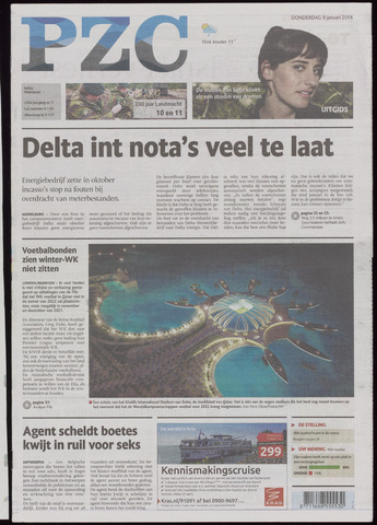 Provinciale Zeeuwse Courant 2014-01-09