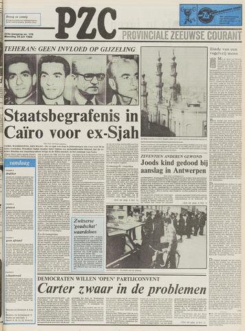 Provinciale Zeeuwse Courant 1980-07-28