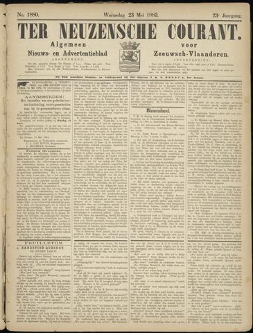 Ter Neuzensche Courant. Algemeen Nieuws- en Advertentieblad voor Zeeuwsch-Vlaanderen / Neuzensche Courant ... (idem) / (Algemeen) nieuws en advertentieblad voor Zeeuwsch-Vlaanderen 1883-05-23