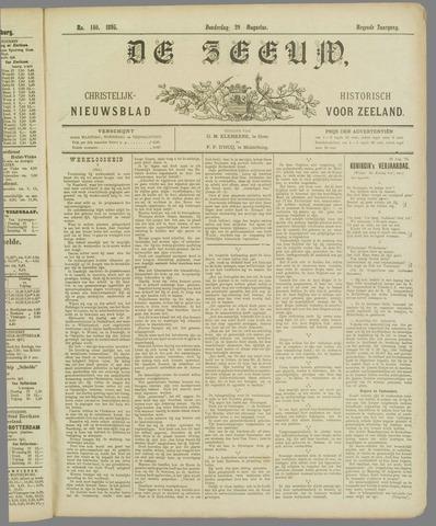 De Zeeuw. Christelijk-historisch nieuwsblad voor Zeeland 1895-08-29