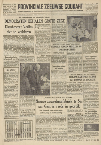 Provinciale Zeeuwse Courant 1958-11-06