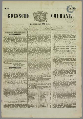 Goessche Courant 1853-05-26