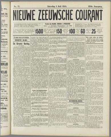 Nieuwe Zeeuwsche Courant 1915-07-03