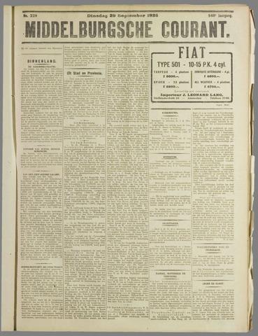 Middelburgsche Courant 1925-09-29