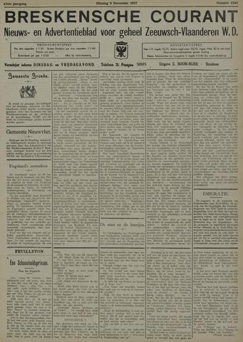Breskensche Courant 1937-11-09