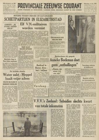 Provinciale Zeeuwse Courant 1961-12-04