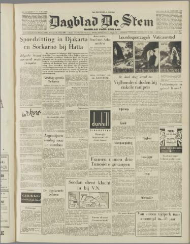 de Stem 1958-02-21