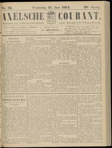 Axelsche Courant 1913-06-25