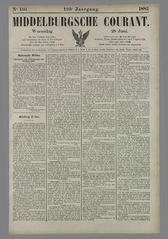 Middelburgsche Courant 1882-06-28