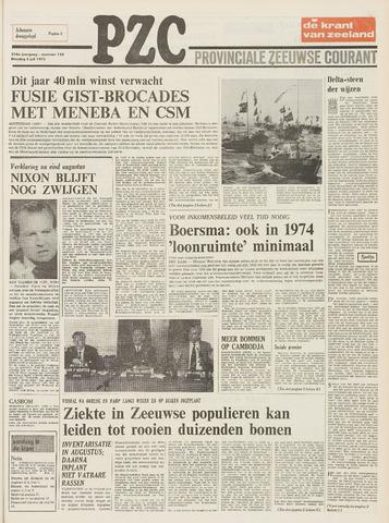 Provinciale Zeeuwse Courant 1973-07-03