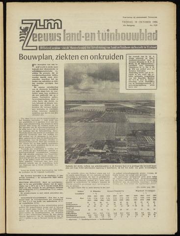 Zeeuwsch landbouwblad ... ZLM land- en tuinbouwblad 1964-10-16