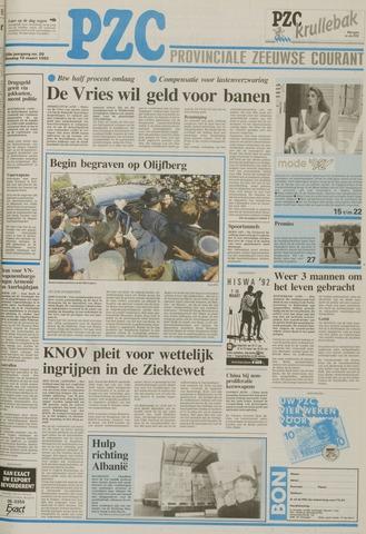 Provinciale Zeeuwse Courant 1992-03-10