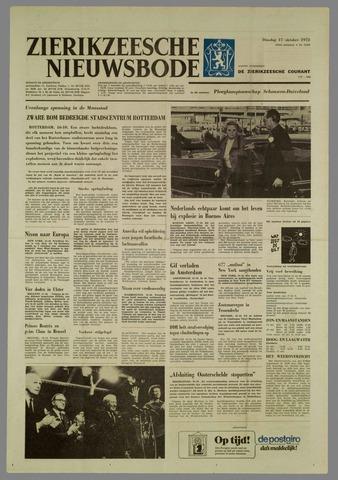 Zierikzeesche Nieuwsbode 1972-10-17