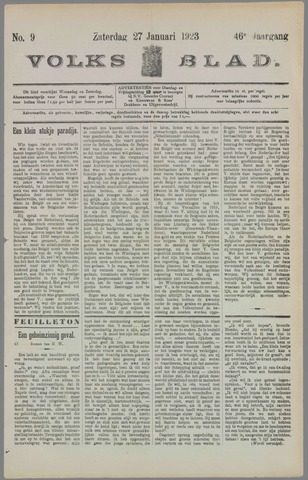 Volksblad 1923-01-27