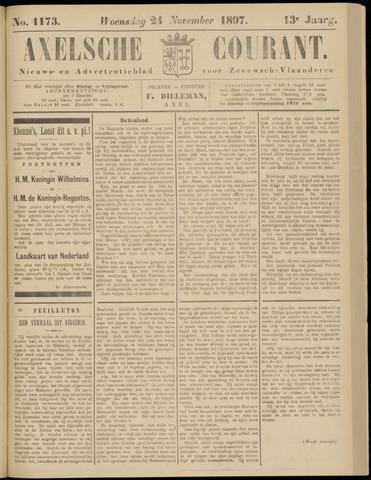 Axelsche Courant 1897-11-24