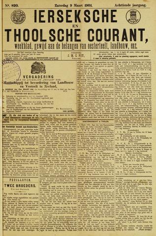 Ierseksche en Thoolsche Courant 1901-03-09