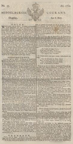 Middelburgsche Courant 1764-05-08