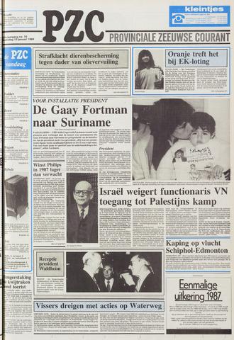Provinciale Zeeuwse Courant 1988-01-13