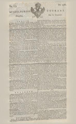 Middelburgsche Courant 1761-12-22