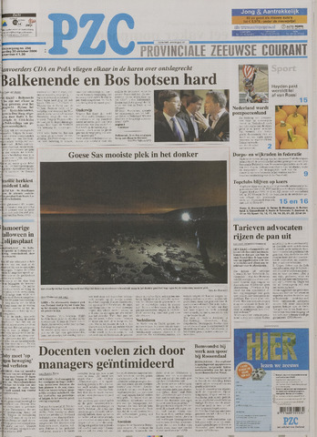 Provinciale Zeeuwse Courant 2006-10-30
