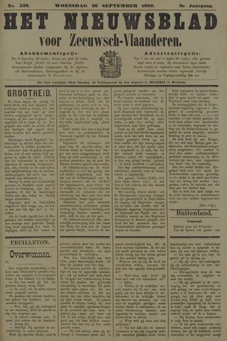 Nieuwsblad voor Zeeuwsch-Vlaanderen 1900-09-26