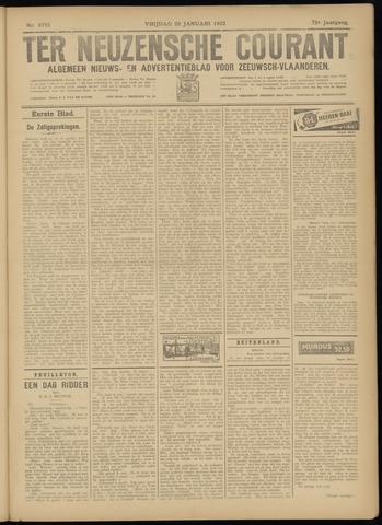 Ter Neuzensche Courant. Algemeen Nieuws- en Advertentieblad voor Zeeuwsch-Vlaanderen / Neuzensche Courant ... (idem) / (Algemeen) nieuws en advertentieblad voor Zeeuwsch-Vlaanderen 1932-01-29