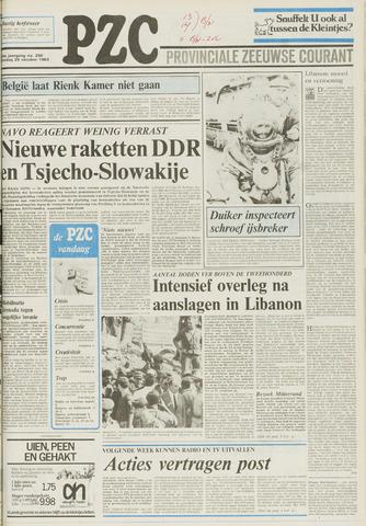Provinciale Zeeuwse Courant 1983-10-25