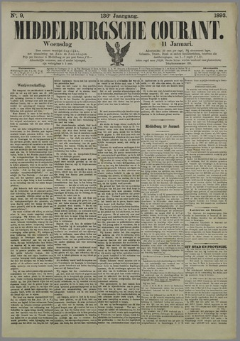 Middelburgsche Courant 1893-01-11