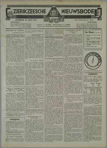 Zierikzeesche Nieuwsbode 1937-06-26