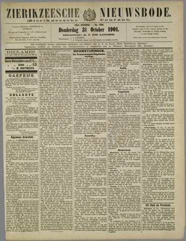 Zierikzeesche Nieuwsbode 1901-10-31