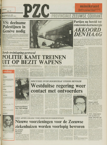 Provinciale Zeeuwse Courant 1977-09-13