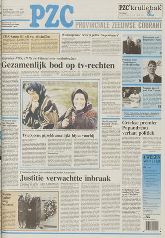 Provinciale Zeeuwse Courant 1996-01-16