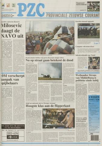 Provinciale Zeeuwse Courant 1999-03-22