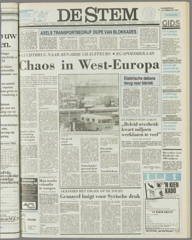 de Stem 1984-02-23