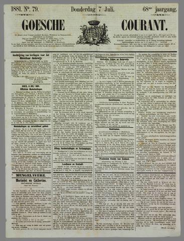 Goessche Courant 1881-07-07