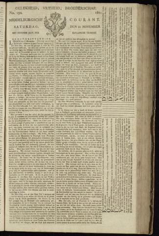 Middelburgsche Courant 1801-11-21