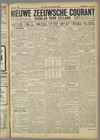Nieuwe Zeeuwsche Courant 1922-12-05
