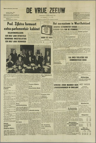de Vrije Zeeuw 1966-11-23