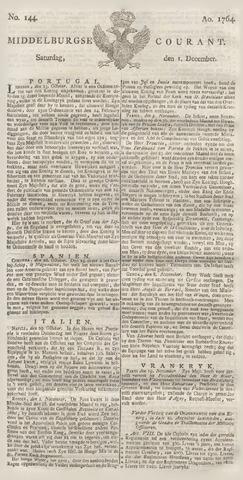 Middelburgsche Courant 1764-12-01