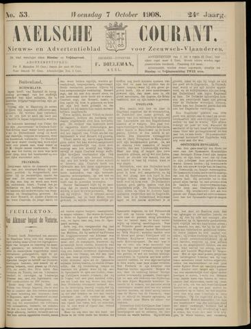 Axelsche Courant 1908-10-07