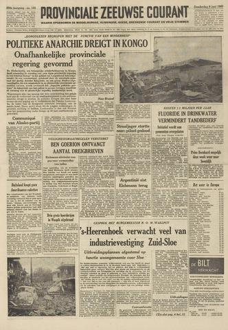 Provinciale Zeeuwse Courant 1960-06-09