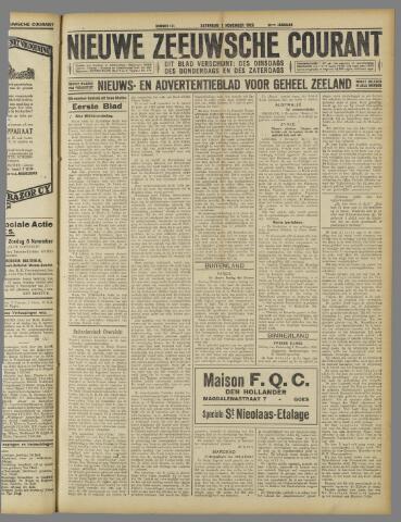 Nieuwe Zeeuwsche Courant 1925-11-07