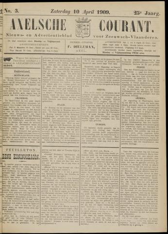 Axelsche Courant 1909-04-10